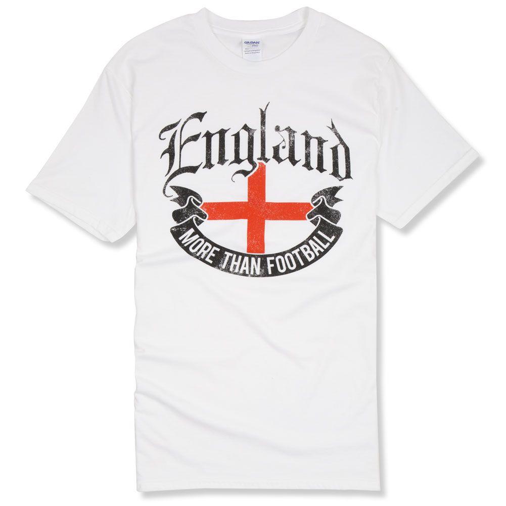 More Than Football England T Shirt