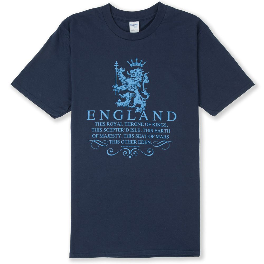 England t shirt throne of kings for We the kings t shirts