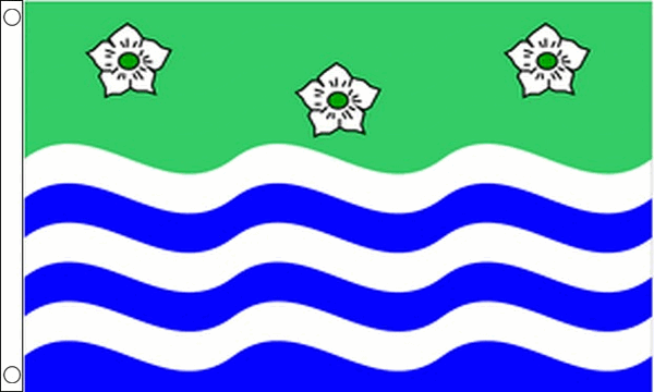 Cumbria Cumberland County Flag