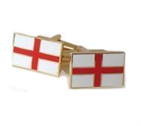 England Cufflinks with St George Cross