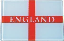 England Fridge Magnet