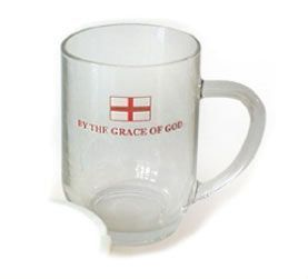 England Glass Pint Tankard