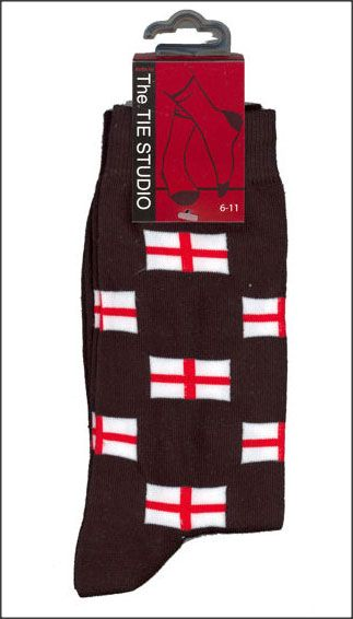 England St George Cross Socks