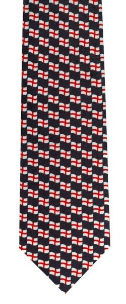 England Tie - St George Cross Flying