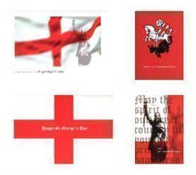 Mixed Pack of St George's Day Cards