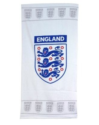 Official FA White England Towel