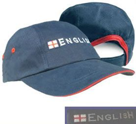 "Rip Strip ""English"" England Baseball Cap"